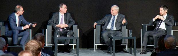 ZIB-2-Anchorman Dr. Armin Wolf lud zum vierten Mal eine hochkarätige Runde zur Podiumsdiskussion