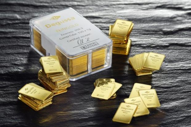 Mini Goldbarren Kaufen