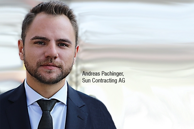 Andreas Pachinger, Sun Contracting AG